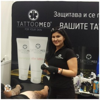 Bulgaria Tattoo Expo V - Криси Петрова