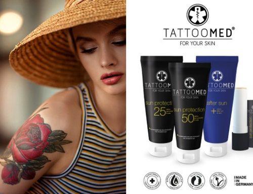 Слънцезащитна козметика за татуировки